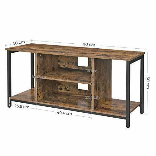 Loft TV stolek rustikální hnědý LTV39BX