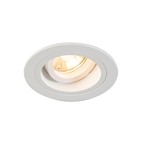 H 92699 Chuck Dl Round Spot White / White