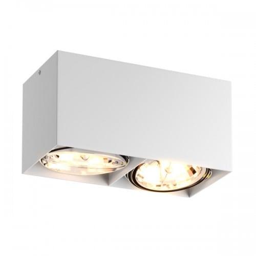 LAMPA WEWNĘTRZNA (SPOT) ZUMA LINE BOX SL 2 SPOT 89949 (white)