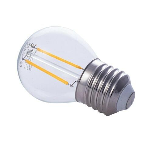2 W E27 G45 2700K LED žárovka