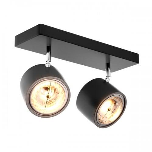 LAMPA WEWNĘTRZNA (KINKIET) ZUMA LINE LOMO SL 2 20004-BK (black)