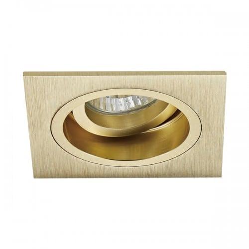 LAMPA WEWNĘTRZNA (SPOT) ZUMA LINE CHUCK DL SQUARE 92703-GD ZŁOTY/GOLD