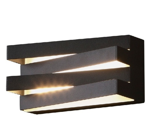 Araxa nástěnná lampa černá