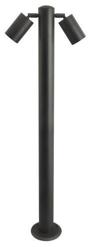 Zahradní lampa Azzardo ROLF 2 900 BK