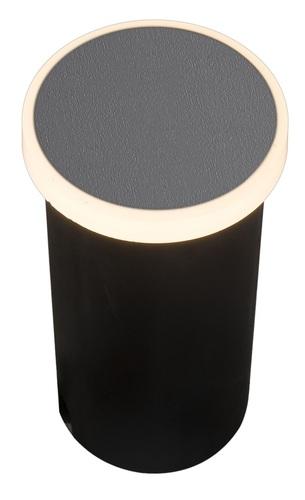 Zahradní lampa Azzardo ALF ROUND 3000K DGR