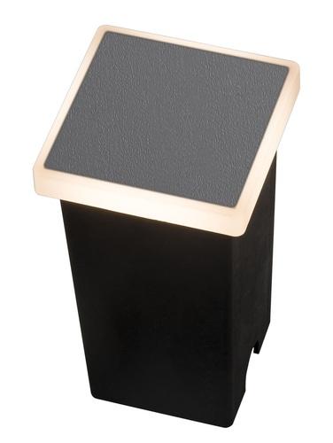 Zahradní lampa Azzardo ALF SQUARE 3000K DGR