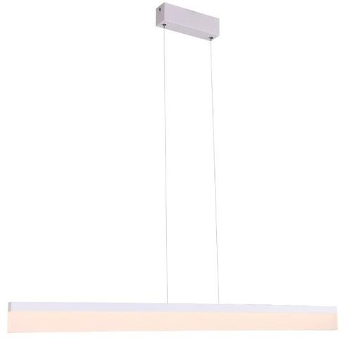 Závěsná lampa LED bílý obdélník RAPID Large