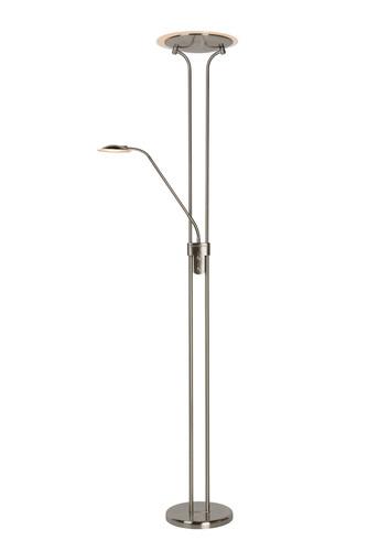 Stojací lampa CHAMPION-LED Satin chrom