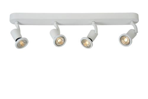 Plafond čtyřbodový STER bílý GU10