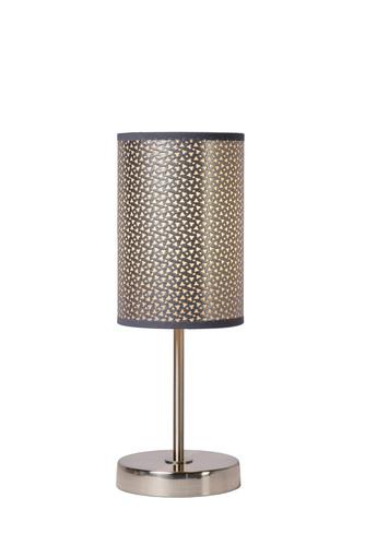 MODNA stříbrná stolní lampa E27