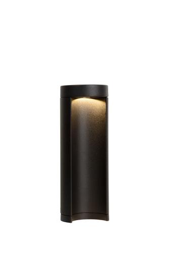 Venkovní světelný sloup COMBO Led černý 25cm