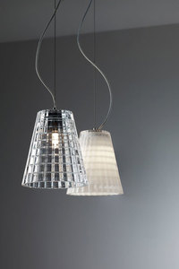 Závěsná lampa bílá Fabbian FLOW D87A0115 small 2