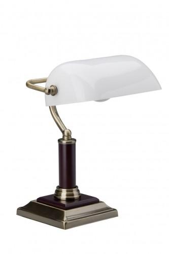 Klasyczna Lampa Gabinetowa Biurkowa Banquer
