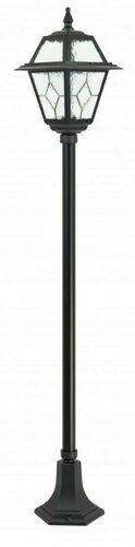Malá zahradní lucerna s vitráží (160 cm) - K 5002/1 N