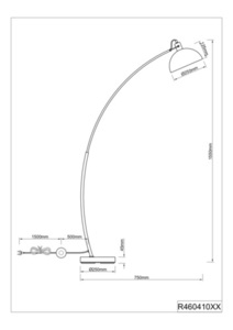 Stojací lampa RL RECIFE R46041032 small 1