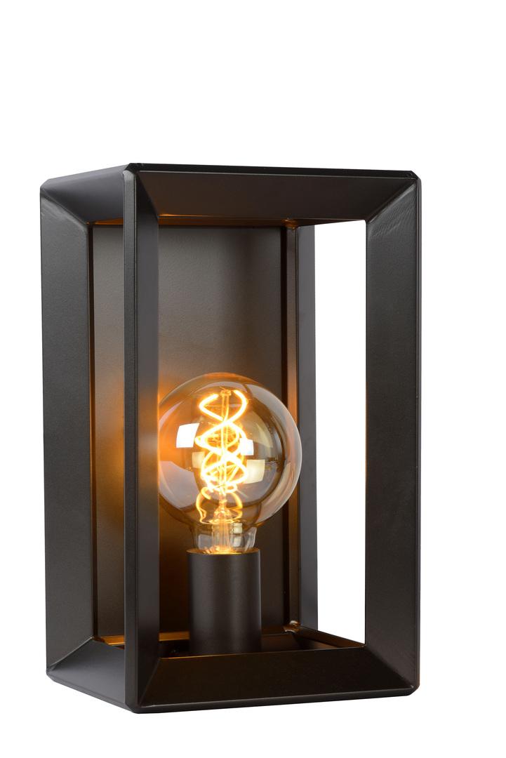 Nástěnné světlo THUNDER BLACK železo E27