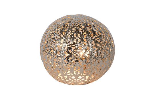 Stolní lampa POLO stříbrný kov G9