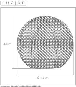 Stolní lampa POLO bílý kov G9 small 1