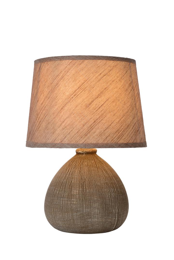 RAMSEY II hnědá stolní lampa E27