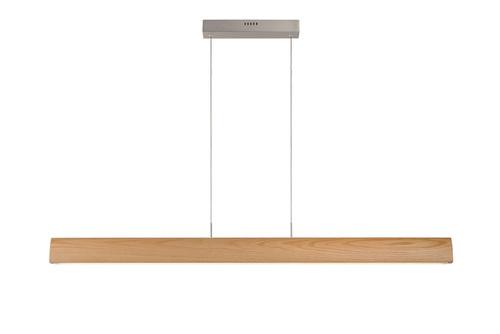 Závěsná svítilna SYTZE čiré dřevo 125 cm