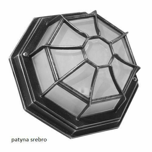 Zahradní lampa Retro Classic K 3012 / P SZ černá