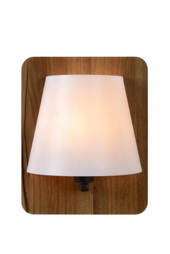 Dřevěná nástěnná lampa IDAHO
