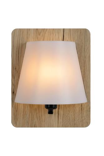 Nástěnné svítidlo IDAHO Světlé dřevo