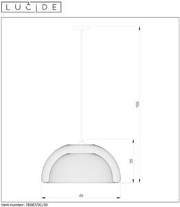 Závěsná svítilna MESH 78387/01/30 small 1
