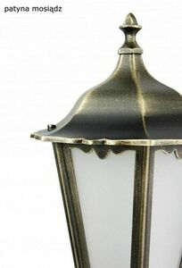 Externí nástěnná lampa Retro Maxi K 3012/1 / BD g small 3