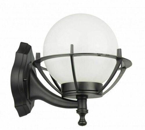 Venkovní nástěnná lampa Kule s košem 200 K 3012/1 / KPO