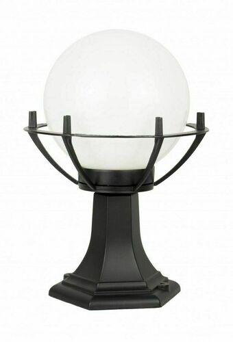 Lampa - kula z koszykiem stojąca ogrodowa (39cm) - 200 K 4011/1/KPO