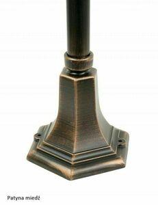 Lampa - koš se zahradním stojatým košem (152 cm) - 200 K 5002/1 / KPO small 2