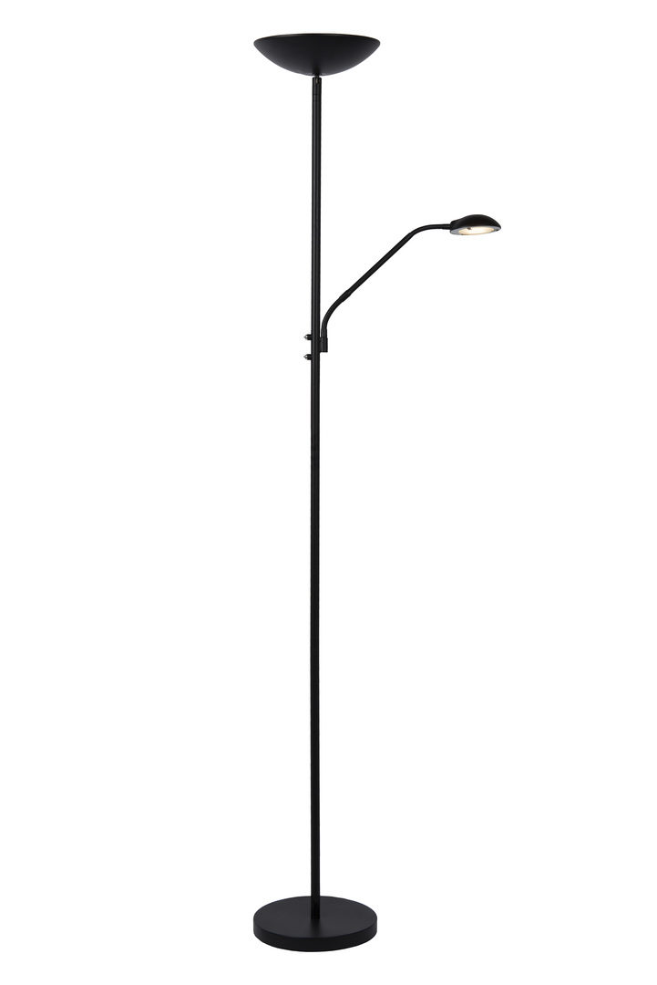Stojací lampa ZENITH černá