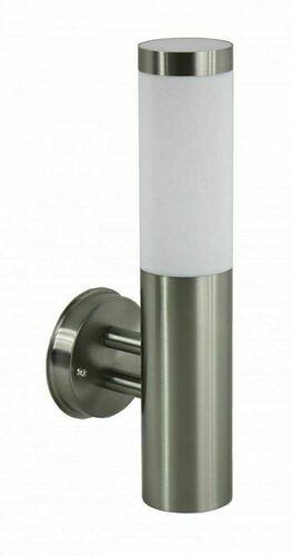 Vnější nástěnná lampa Inox nerezová ocel 33,6 cm