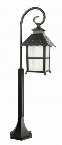 Lampa ogrodowa stojąca z elegancką witryną (86 cm) - CADIZ K 5002/3/Z