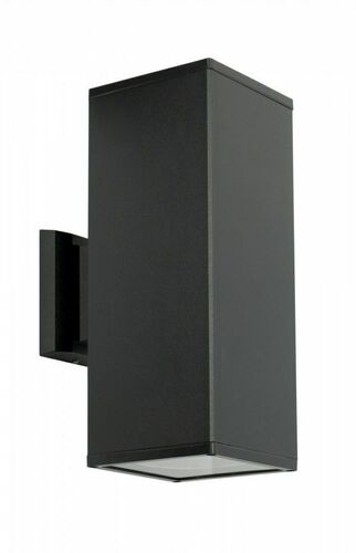 Moderní venkovní nástěnná lampa Adela 8001 BL 2x60W