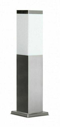 Lampa ogrodowa stojąca SUMA INOX KWADRATOWA 45 cm