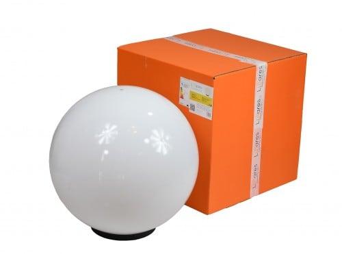 Zahradní lampa Luna míč 50 cm, zahradní koule, zářící koule, klasický styl, bílá