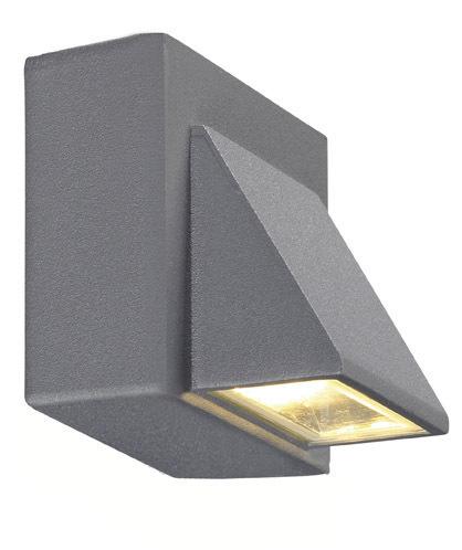 CARINA Nástěnné svítidlo 1L Grey