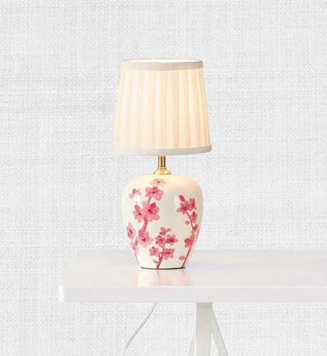 CHERRY Stołowa 33cm Biały/Różowy 1