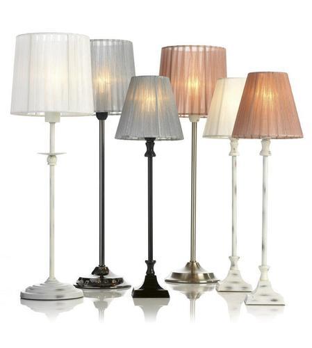 GESSIE Stolní lampa bílá