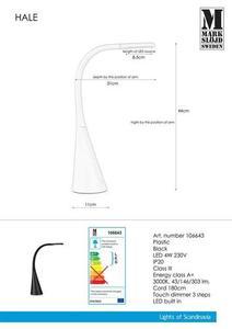HALE USB černý stůl small 0