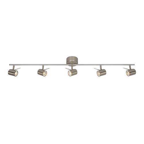 HYSSNA LED stropní 5L ocel