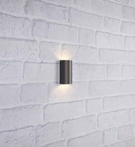 LYRA Nástěnné svítidlo 2L Tmavě šedá