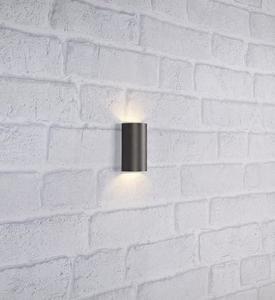 LYRA Nástěnné svítidlo 2L Tmavě šedá small 1