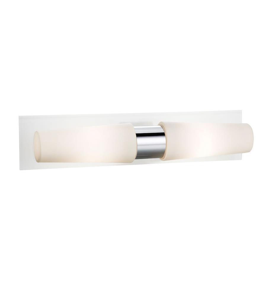MANSTAD LED Nástěnné svítidlo 2L Bílá IP44