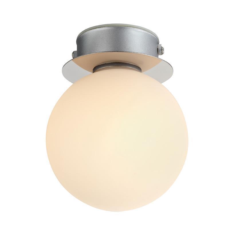 Stropní / nástěnná lampa MINI 1L bílá IP44
