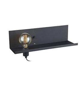 MULTI Nástěnné svítidlo USB 1L Black small 0