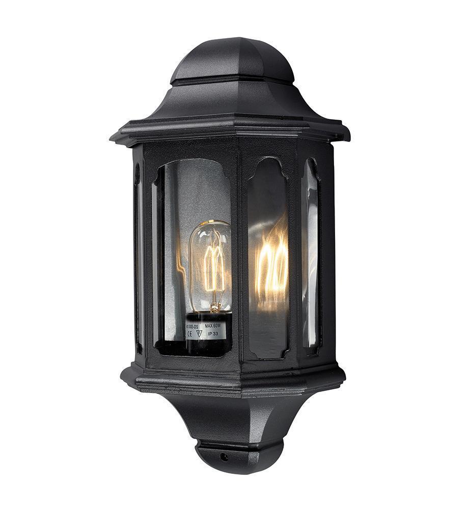 NADJA Nástěnná lampa černá