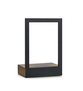 PABLO LED nástěnná lampa černá small 0